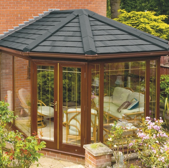 Replace Your Existing Conservatory Roof With A Garden Room: Lightweight Tiled Roof System